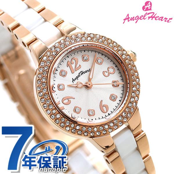 エンジェルハート 時計 ラブスポーツ レディース 腕時計 WL27CPGZ-ACC AngelHeart シルバー×ピンクゴールド