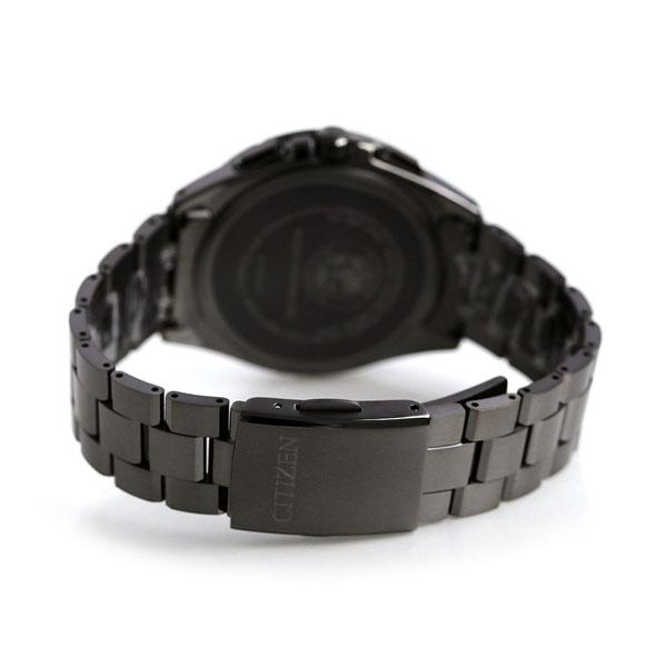ec787a0cc4 ブラックチタン 時計 オールブラック AT9097-54E アテッサ エコドライブ電波 CITIZEN 腕時計 【あす楽対応】 シチズン