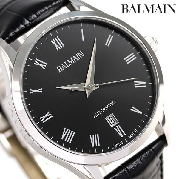 BALMAIN バルマン 時計 スイス製 自動巻き メンズ B1441.32.62 腕時計 ブラック