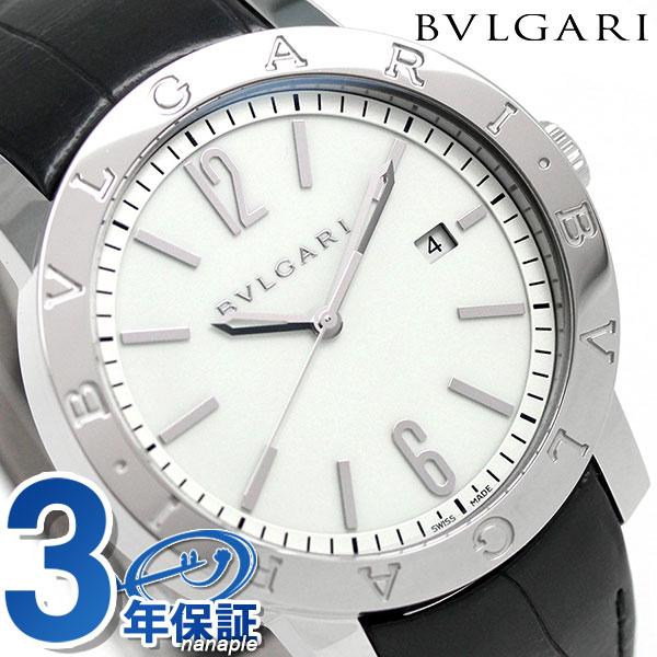 ブルガリ BVLGARI ブルガリブルガリ 41mm 自動巻き メンズ BB41WSLD 腕時計 ホワイト