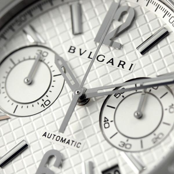 宝格丽BVLGARI diagono 40mm自动卷人DG40C6SSDCH手表银子