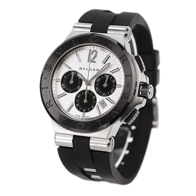 58784490f0be ブルガリBVLGARIディアゴノ42mm自動巻きメンズDG42C6SCVDCH腕時計シルバー