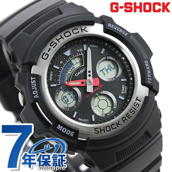 3ed203c19a76 nanaple  Casio g-shock watch g-shock AW-590-1ADR