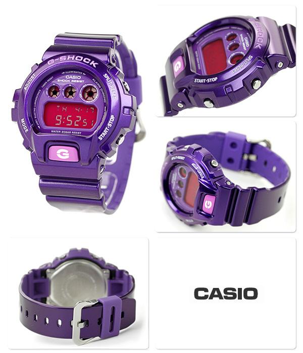 DW-6900CC-6DR CASIO G-SHOCK G-打擊發瘋彩色紫