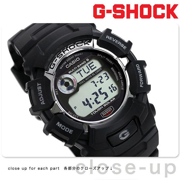 10日なら!店内ポイント最大45倍! G-SHOCK 電波 ソーラー CASIO GW-2310-1CR 腕時計 カシオ Gショック スタンダードモデル ブラック 時計【あす楽対応】
