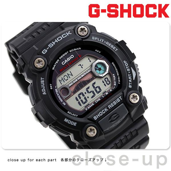 G-SHOCK 電波 ソーラー CASIO GW-7900-1ER 腕時計 カシオ Gショック タイドグラフ・ムーンデータ搭載 ブラック 時計【あす楽対応】