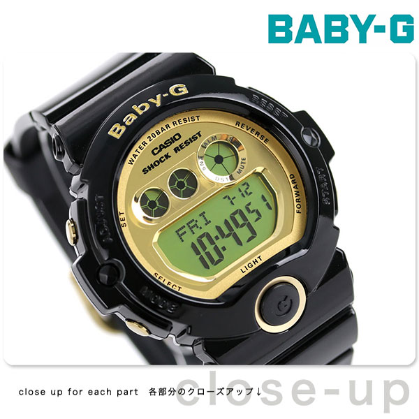7fdec69208b4 Baby G Casio (Casio) watch 6900 Series Black × Gold Baby-G CASIO BG-6901-1DR   Next Day Delivery