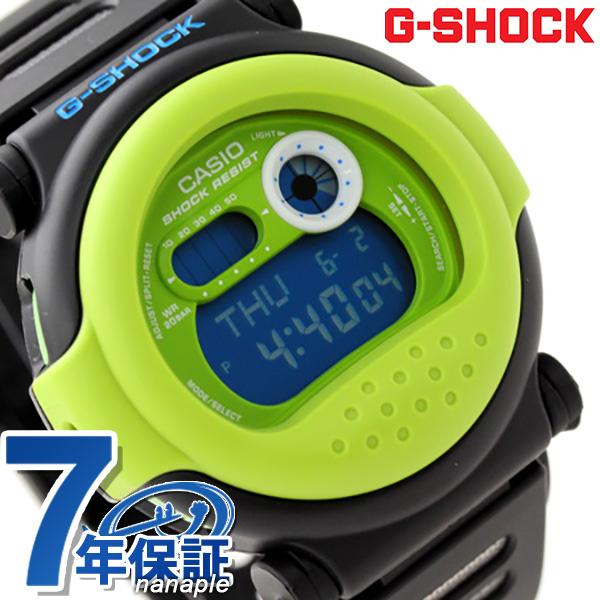 G-001HC-1DR G打击G-SHOCK G打击贾森超级·彩色黑色×绿色