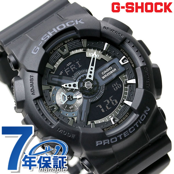 4be6d7655848 From g-shock toughness to pursue big face appeared in the GA-110 series New  color models. G-shock will be adopting in the main black represents  strength.