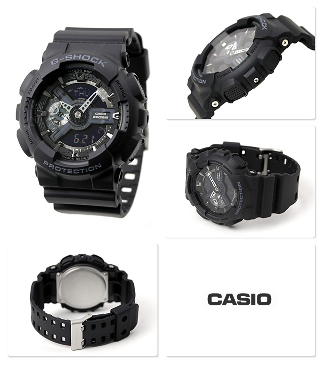 5a6de397fa6 From g-shock toughness to pursue big face appeared in the GA-110 series New  color models. G-shock will be adopting in the main black represents  strength.