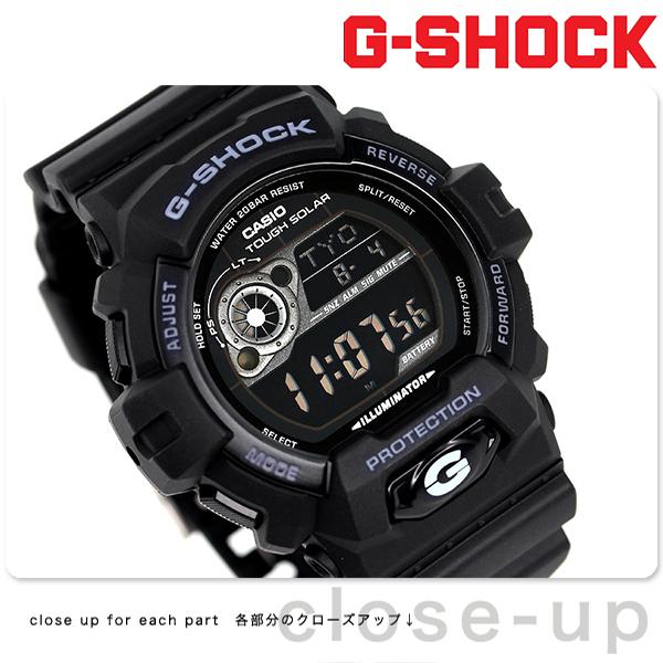 G-SHOCK ソーラー CASIO GR-8900A-1DR 腕時計 カシオ Gショック スタンダードモデル ブラック × ホワイト 時計【あす楽対応】