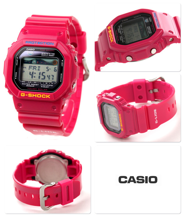 "GRX-5600A-4DR ""g-shock G shock G ride solar pink"