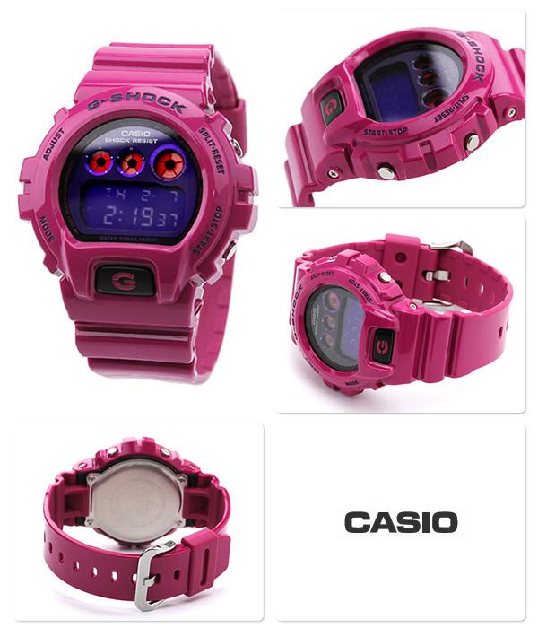 DW-6900PL-4DR G打击发疯彩色手表紫×粉红CASIO G-SHOCK