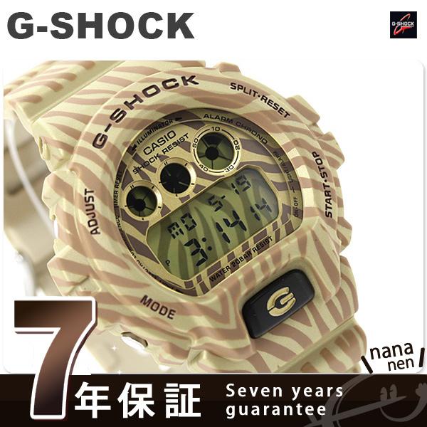 DW-6900ZB-9DR G-SHOCK斑马伪装系列限定型号卡西欧G打击人手表石英黄金