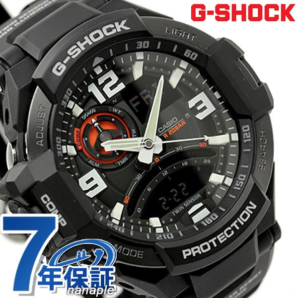 G-SHOCK CASIO GA-1000-1ADR SKY COCKPIT メンズ 腕時計 カシオ Gショック スカイコックピット オールブラック 時計【あす楽対応】