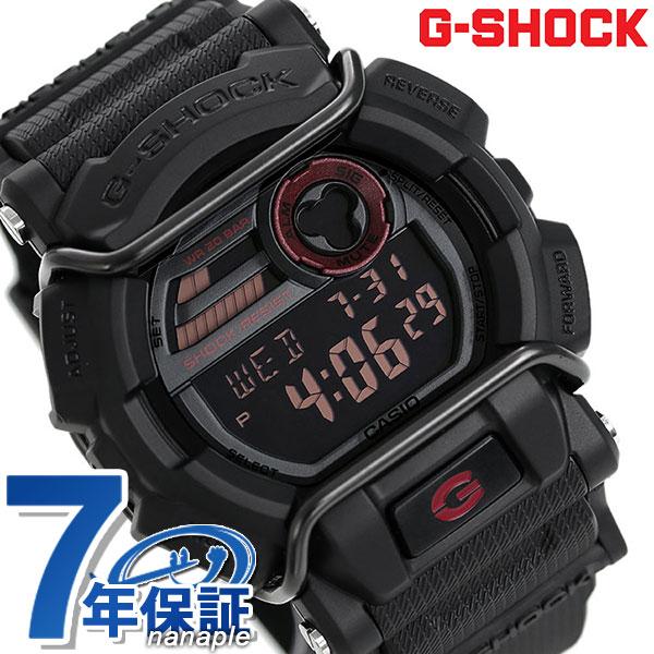big sale e8c65 ddbe5 G-shock protector men's watch quartz movement GD-400-1DR Casio G shock black
