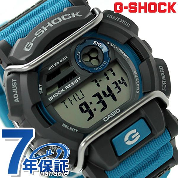 separation shoes 5048e be21a G-shock protector men's watch quartz movement GD-400-2DR Casio G shock blue