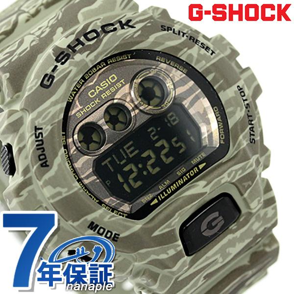 G-SHOCK CASIO GD-X6900CM-5DR メンズ 腕時計 カシオ Gショック カモフラージュシリーズ ブラック × グリーン 時計【あす楽対応】