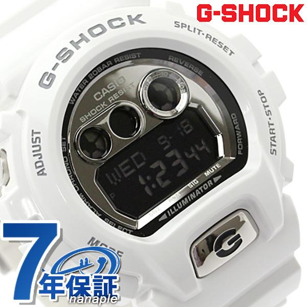 GD-X6900FB-7DR G打擊卡西歐手錶人黑色×白CASIO G-SHOCK