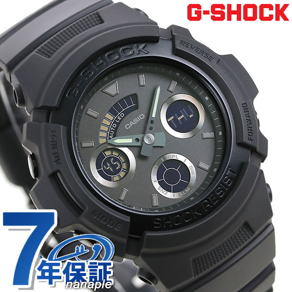 new arrival ced51 1d618 AW-591BB-1ADR g-shock basic quartz mens watch G shock black