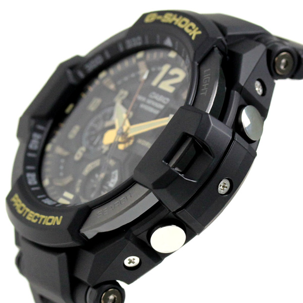 G-shock vintage black & gold men's watch GA-1100GB-1ADR Casio G shock