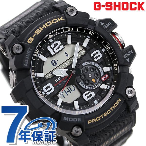 店内ポイント最大43倍!16日1時59分まで! 【4月中旬入荷予定 予約受付中♪】G-SHOCK CASIO GG-1000-1ADR マッドマスター メンズ 腕時計 カシオ Gショック オールブラック 時計