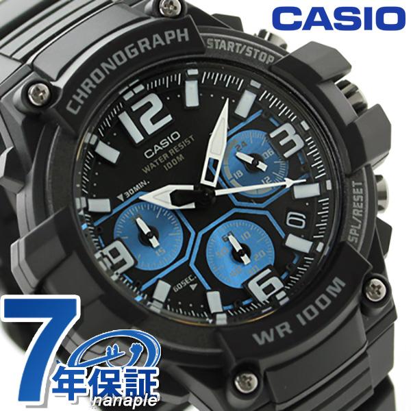 3775b566cb カシオ 腕時計 チープカシオ 海外モデル クロノグラフ メンズ MCW-100H-1A2VCF CASIO クオーツ