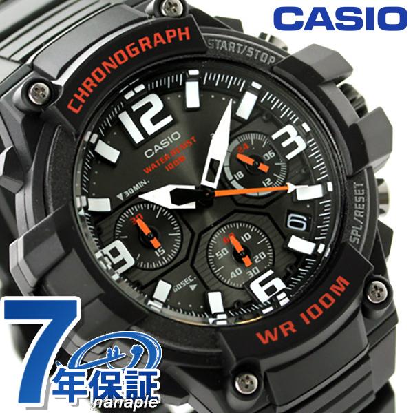 5914e4ea2f カシオ 海外モデル クロノグラフ メンズ 腕時計 MCW-100H-1AVCF CASIO クオーツ クラシック オール