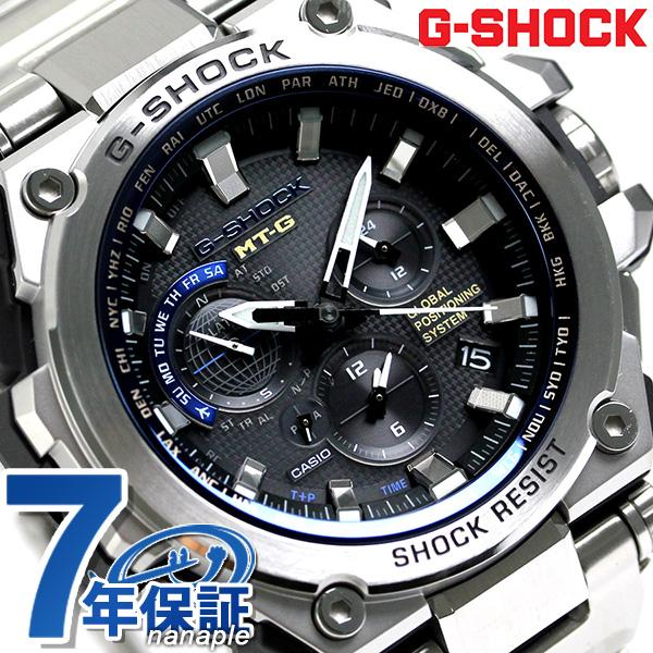 G-SHOCK GPS混合電波太陽能人手錶MTG-G1000D-1A2ER卡西歐G打擊黑色