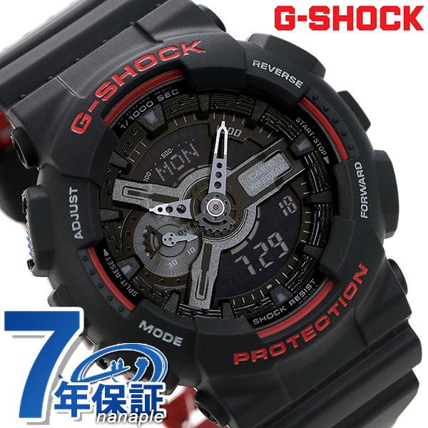G Shock Casio Ga 110hr 1adr Special Color Men Watch Casio G Shock Black X Red Clock