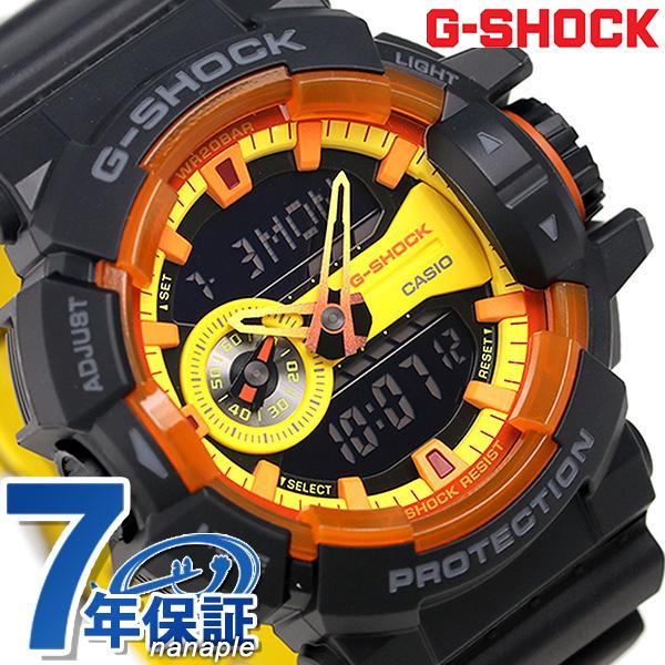G Shock Casio Ga 400by 1adr Men Watch Casio G Shock Special Color Black X Yellow Clock