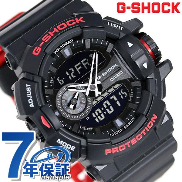 G-SHOCK CASIO GA-400HR-1ADR メンズ 腕時計 カシオ Gショック ブラック&レッド 時計【あす楽対応】