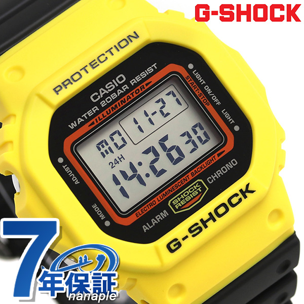 08110fe99 nanaple: G-SHOCK special color through back 1983 watch DW-5600TB-1DR ...