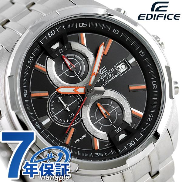 カシオ エディフィス クロノグラフ メンズ 腕時計 EFR-536D-1A4VDF CASIO ブラック 時計【あす楽対応】