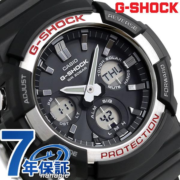 G-SHOCK ソーラー アナデジ メンズ 腕時計 GAS-100-1ADR カシオ Gショック ブラック 時計【あす楽対応】