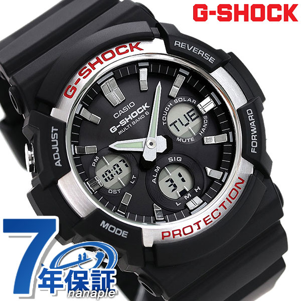 5d4831b3250 nanaple: G-SHOCK basic electric wave solar men watch GAW-100-1AER ...
