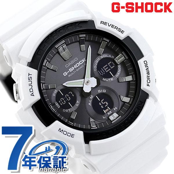 G-SHOCK ベーシック 電波ソーラー アナデジ メンズ 腕時計 GAW-100B-7AER カシオ Gショック 時計【あす楽対応】