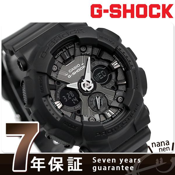 G-SHOCK Sシリーズ メンズ 腕時計 GMA-S120MF-1ADR カシオ Gショック オールブラック 時計【あす楽対応】