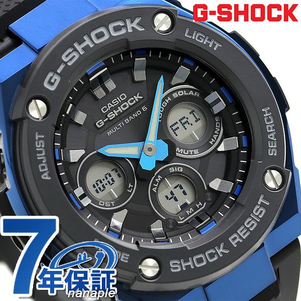 G-SHOCK Gスチール ミドルサイズ アナデジ 電波ソーラー GST-W300G-1A2ER カシオ Gショック メンズ 腕時計 時計【あす楽対応】