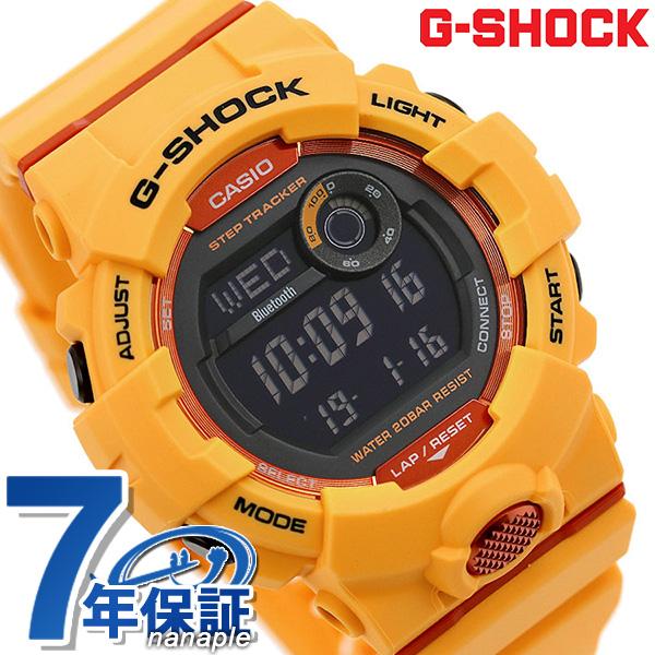 G Shock G Shock Men Watch Gbd 800 Bluetooth Digital Gbd 800 4dr Casio Black X Yellow Clock