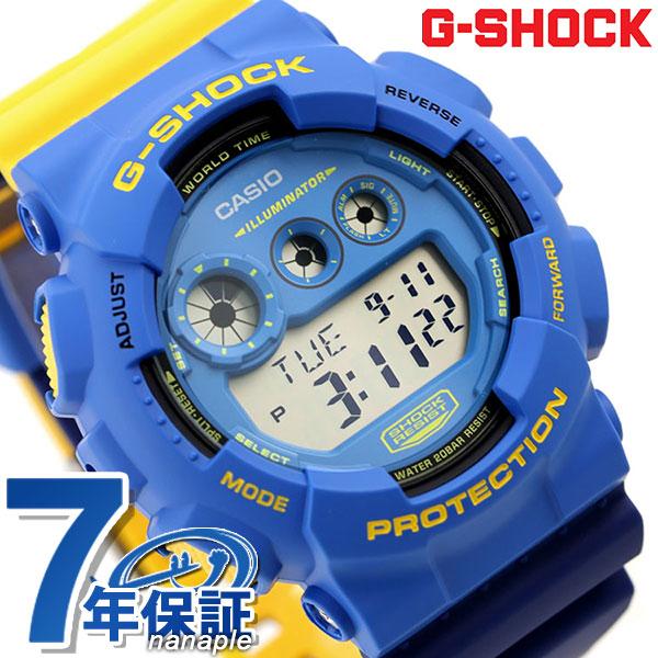 G-SHOCK スペシャルカラー メンズ 腕時計 デジタル GD-120NC-2DR カシオ Gショック ブルー×イエロー 時計【あす楽対応】