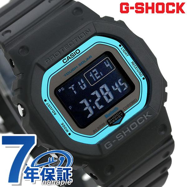 G-SHOCK 電波ソーラー GW-B5600 デジタル Bluetooth 腕時計 GW-B5600-2ER Gショック ブラック【あす楽対応】