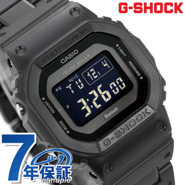店内ポイント最大43倍!16日1時59分まで! G-SHOCK 電波ソーラー GW-B5600 デジタル Bluetooth 腕時計 GW-B5600BC-1BER Gショック オールブラック【あす楽対応】
