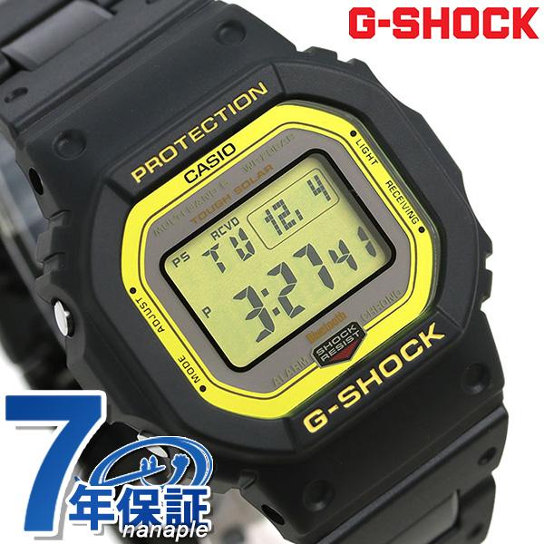 G-SHOCK 電波ソーラー GW-B5600 デジタル Bluetooth 腕時計 GW-B5600BC-1ER Gショック ブラック【あす楽対応】