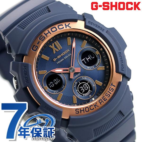 G-SHOCK Gショック メンズ 腕時計 スペシャルカラー 海外モデル ソーラー AWR-M100SNR-2ADR カシオ ロイヤルネイビーブルー 時計【あす楽対応】