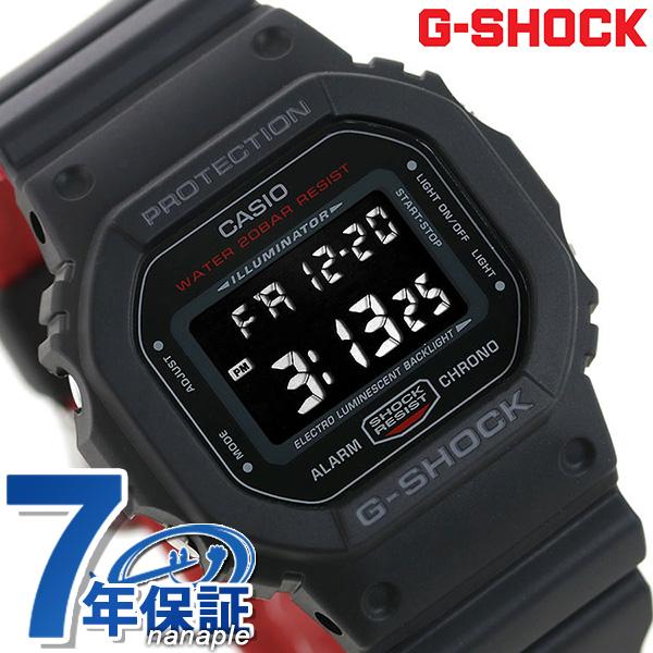 G-SHOCK ゴリラズ GORILLAZ 限定モデル 海外モデル メンズ 腕時計 DW-5600HRGZ-1DR カシオ Gショック オールブラック×レッド 時計【あす楽対応】
