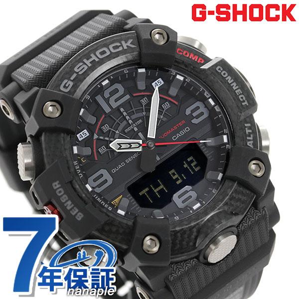 【10日はさらに+4倍で店内ポイント最大53倍】 G-SHOCK Gショック GG-B100 アナデジ マッドマスター GG-B100-1ADR カシオ 腕時計 オールブラック 黒【】