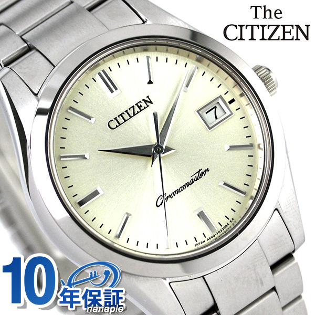 店内ポイント最大43倍!16日1時59分まで! 【システムノート付き♪】ザ・シチズン クオーツ メンズ 腕時計 AB9000-52A THE CITIZEN クリーム 時計