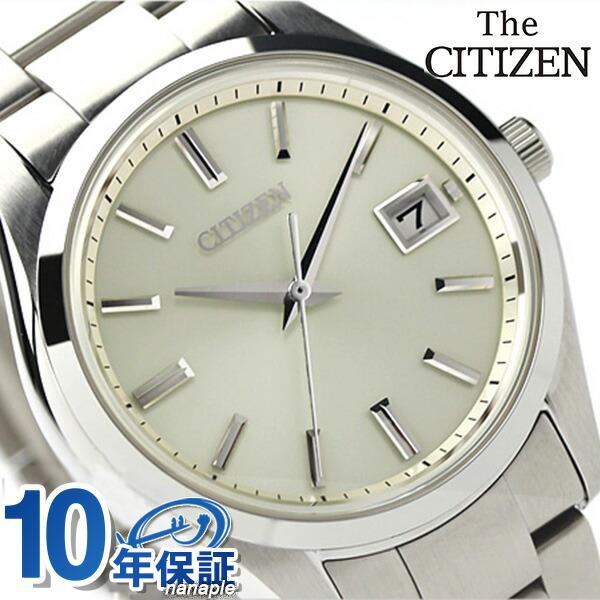 店内ポイント最大43倍!16日1時59分まで! 【システムノート付き♪】ザ・シチズン スタンダードモデル ソーラー メンズ AQ4000-51A THE CITIZEN 腕時計 ゴールド 時計