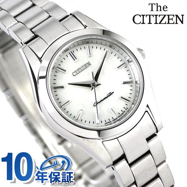 ザ・シチズン クオーツ レディース 腕時計 EB4000-69W THE CITIZEN ホワイトシェル 時計